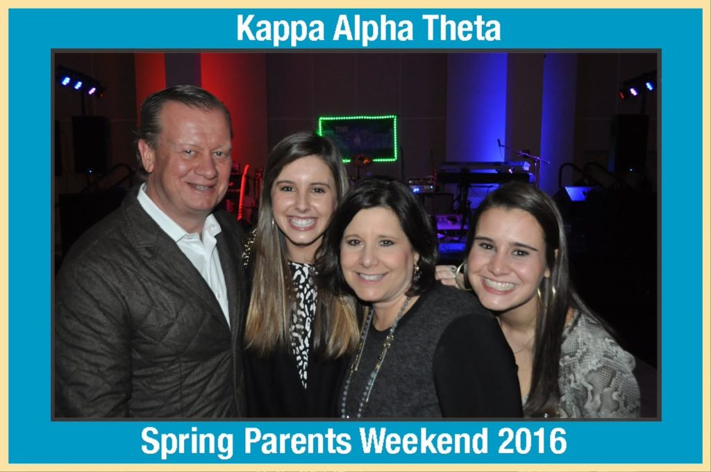 A mag-nificent photo taken at a sorority parents weekend