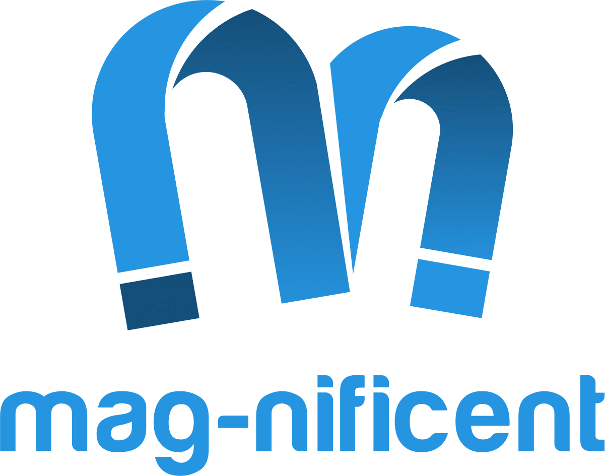 the mag-nificent logo uploaded