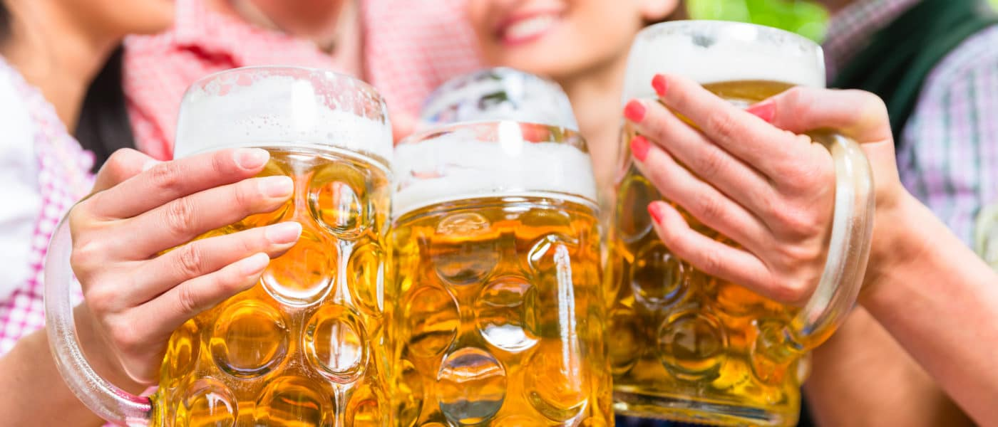 Oktoberfest Beer Garden