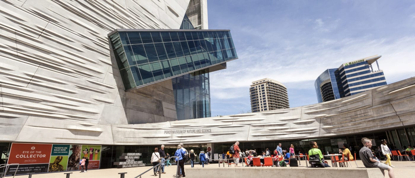 The Perot Museum of Nature and Science in Dallas