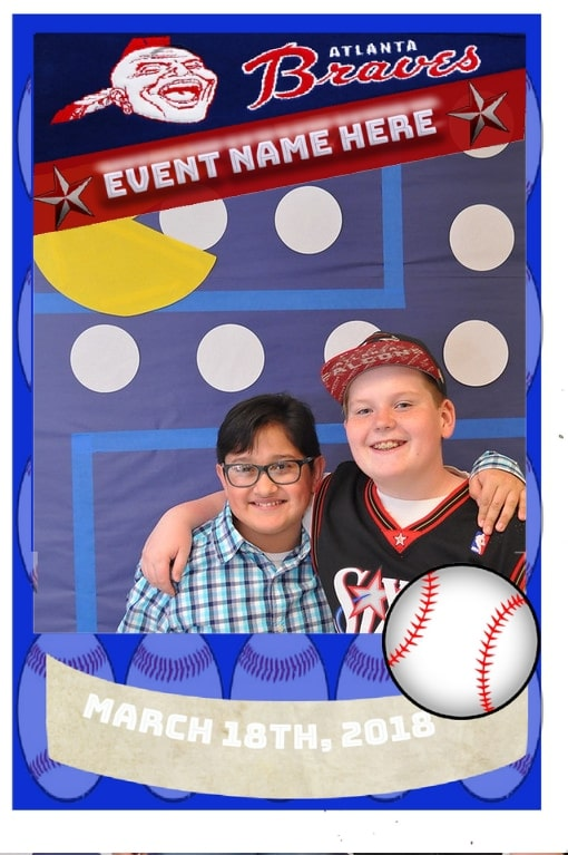 Mag-nificent trading card featuring two young boys.