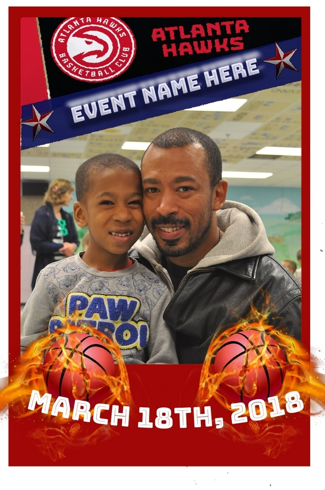 Mag-nificent trading card featuring a father and son.